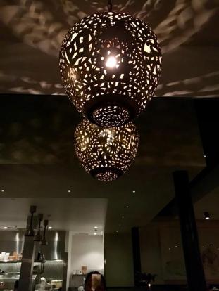 Lighting in Mr. Jiu's