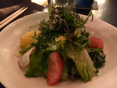 Gem salad with seasonal citrus at Pabu