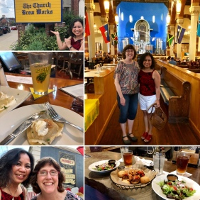 PGH foodie tour with my high school friend Cindy H.
